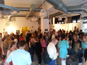 CWG gallery reception
